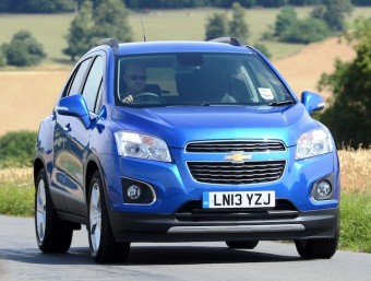 Chevrolet Trax front action