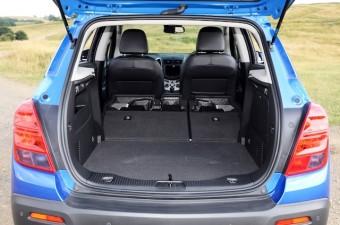 Chevrolet Trax rear interior