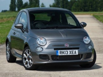 Fiat 500S front static