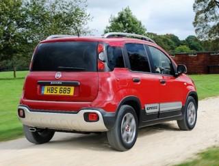 Fiat Panda Cross rear side action