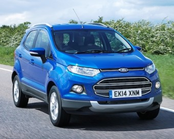 Ford EcoSport front action