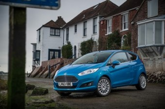 Ford Fiesta 1.0 Ecoboost A front static