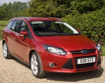 Ford Focus Estate front static