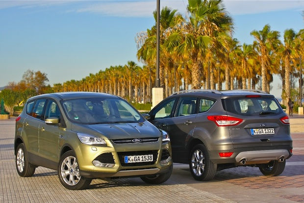 Ford Kuga twin shot Spain JMackie