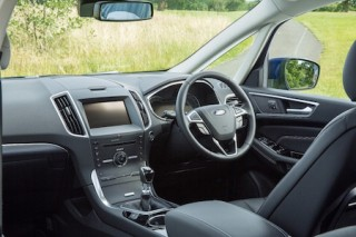 Ford S Max front interior