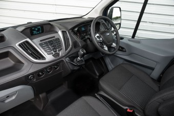 Ford Transit 2T front driver