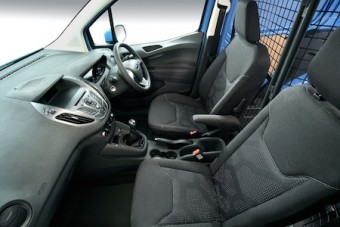 Ford Transit Courier Van and Kombi front interior