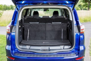 Ford new S Max seven seats in three rows
