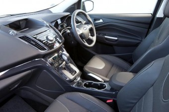 Fords new Kuga front busy button interior