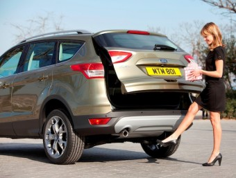 Fords new Kuga hands free tailgate operation