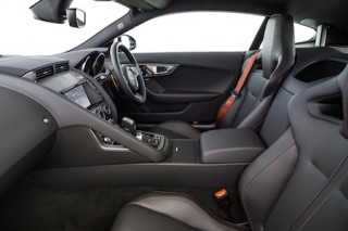 Jaguar F Type Coupe front interior