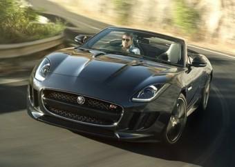 Jaguar F Type front action bend trimmed