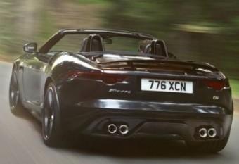 Jaguar F Type rear action woods MED