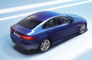 Jaguar XE rear static studio