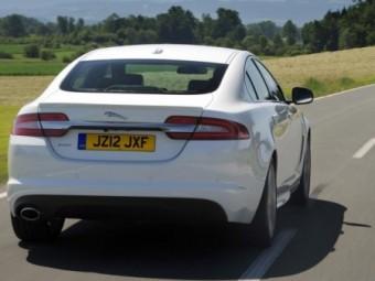 Jaguar XF Saloon Sport rear action