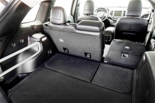 All-new 2014 Jeep Cherokee Limited and Trailhawk models sport a thoughtfully designed, holistic interior that provides maximum user convenience, including class-exclusive Jeep Cargo Management System.