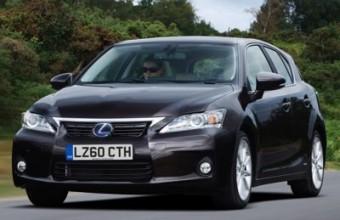 Lexus CT 200h front