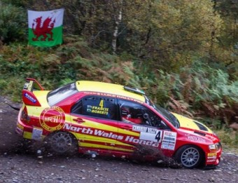 Luke Francis and John H Roberts Cambrian Rally trimmed