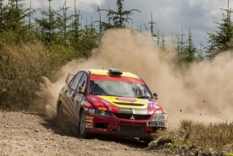 Luke Francis and John H Roberts will lead Championship contenders way on Cambrian Rally