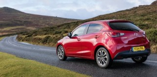 Mazda2 rear action Dartmoor
