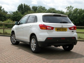 Mitsubishi ASX rear-side