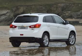 Mitsubishi ASX rear static