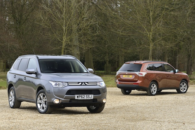 Mitsubishi Outlander MY13 duo tight MED