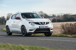 Nissan Juke Nismo RS front action