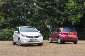 Nissan Note duo MY14 Med