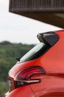 Peugeot 208 rear detail
