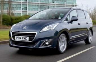 Peugeot 5008 2014 front action