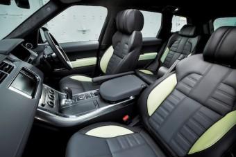 Range Rover Sport front interior