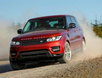 Range Rover Sport side front action 1