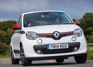 Renault Twingo front action
