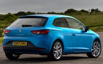 SEAT Leon SC back and side