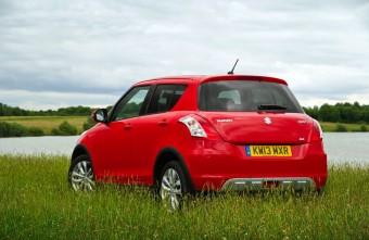 Suzuki Swift 4x4 rear static