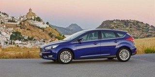 The new Ford Focus side static