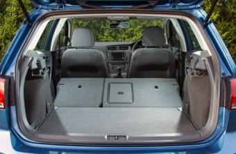 VW Golf 2 loadbed