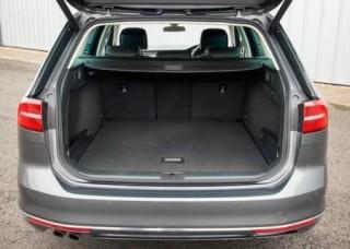 VW Passat Estate rear open loadbed