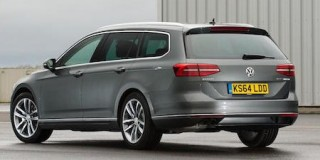 VW Passat Estate rear static