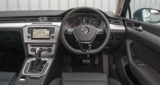 VW Passat front cabin