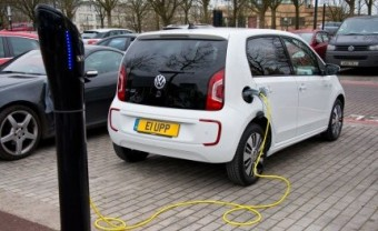 VW e up charging