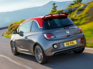 Vauxhall ADAM S side rear action