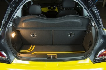 Vauxhall ADAM bootspace