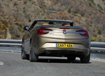 Vauxhall Cascada 1600 rear action