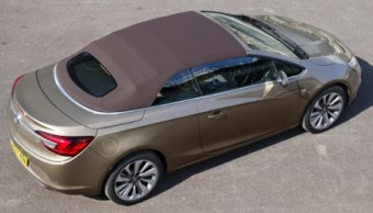 Vauxhall Cascada hood up