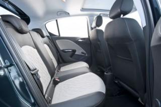 Vauxhall Corsa MY15 5dr backseats