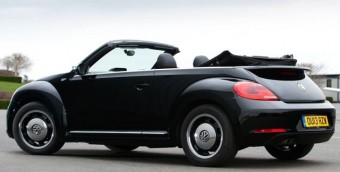 Volkswagen Beetle 50s rear open