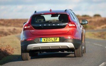 Volvo V40 CC AWD rear action
