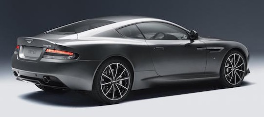 AM DB9 GT rear studio med